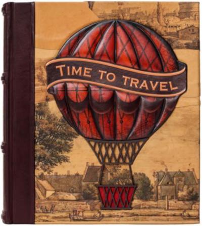 "Фотоальбом путешественника ""Time to travel"""