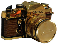 Фотокамера Contax Gold Limited Edition, 1980 год